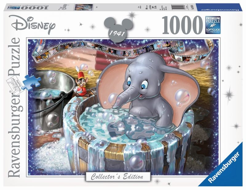 Disney Moments Dumbo 1941 1000pc Puzzle - Ravensburger