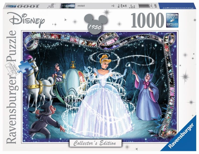 Disney Moments Cinderella 1950 1000pc Puzzle - Ravensburger