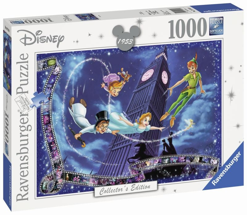 Disney Moments Peter Pan 1953 1000pc Puzzle - Ravensburger