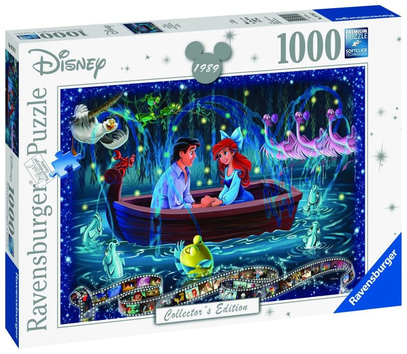 Disney Moments Little Mermaid 1989 1000pc Puzzle - Ravensburger