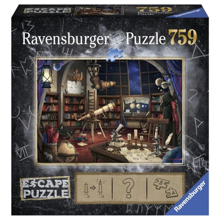 The Observatory 759pc Escape Puzzle - Ravensburger
