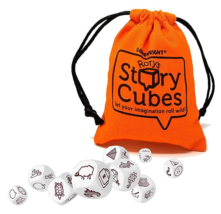 Rorys Story Cubes with Bag