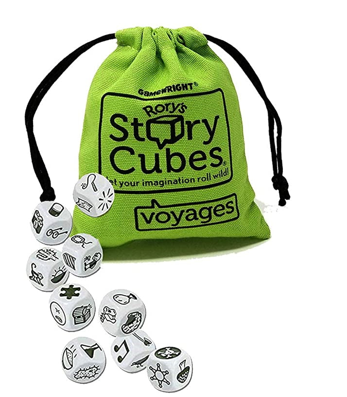 Voyages Rorys Story Cubes with Bag