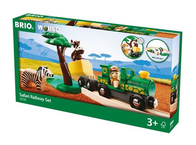 Safari Railway Set - Brio - box