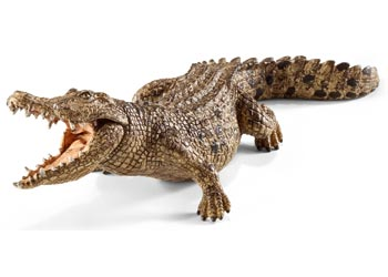 Crocodile - Schleich - open jaw