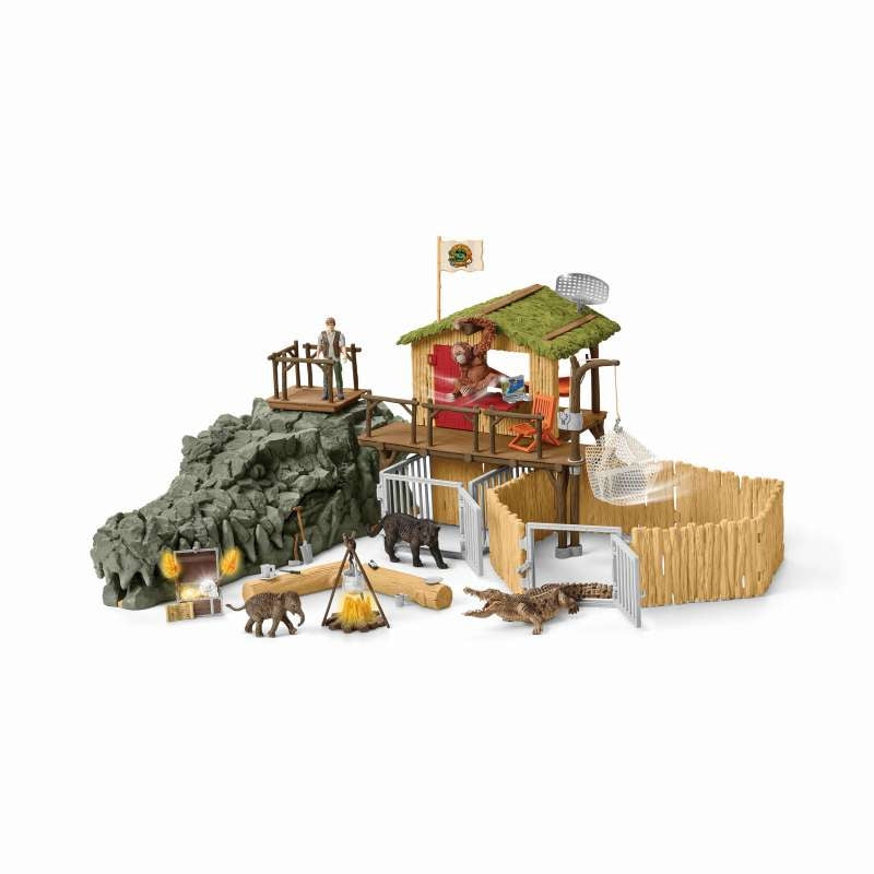 Croco Jungle Research Station - Schleich