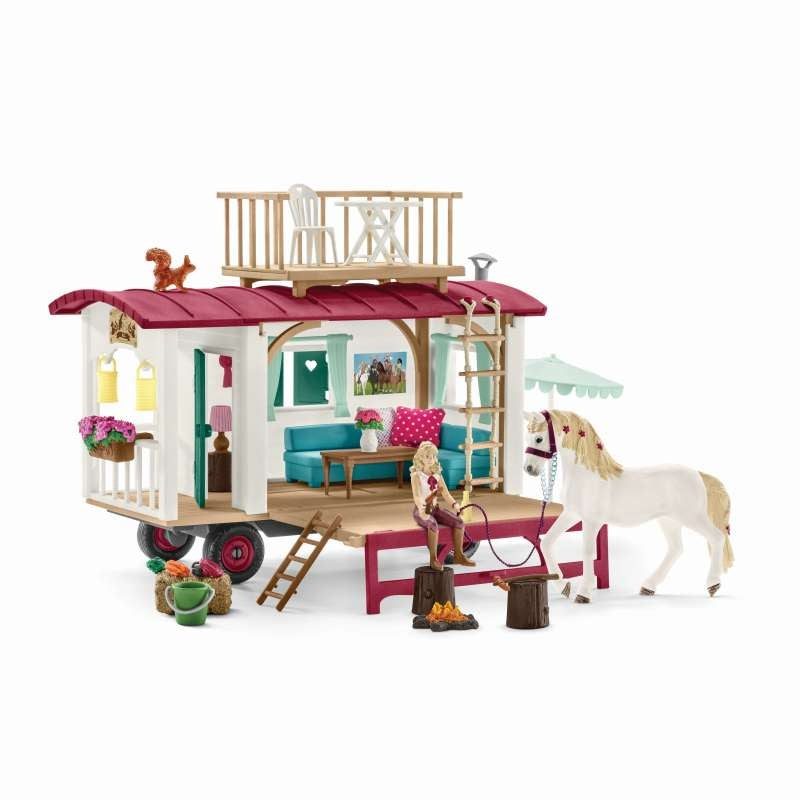 Caravan for Secret Club Meetings - Schleich