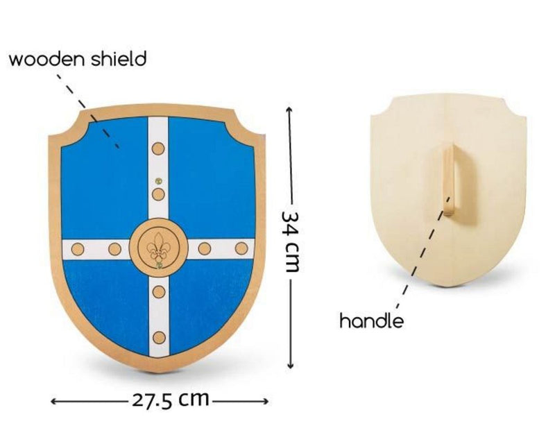 Wooden Shield - BS Toys
