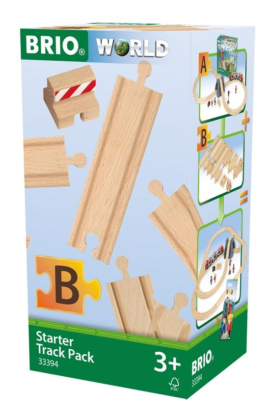 Starter Track Pack Set B - Brio - box