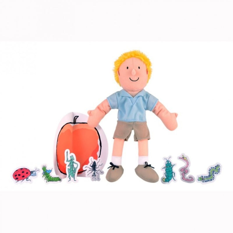 James and The Giant Peach Hand Puppet Set Roald Dahl - Fiesta Crafts