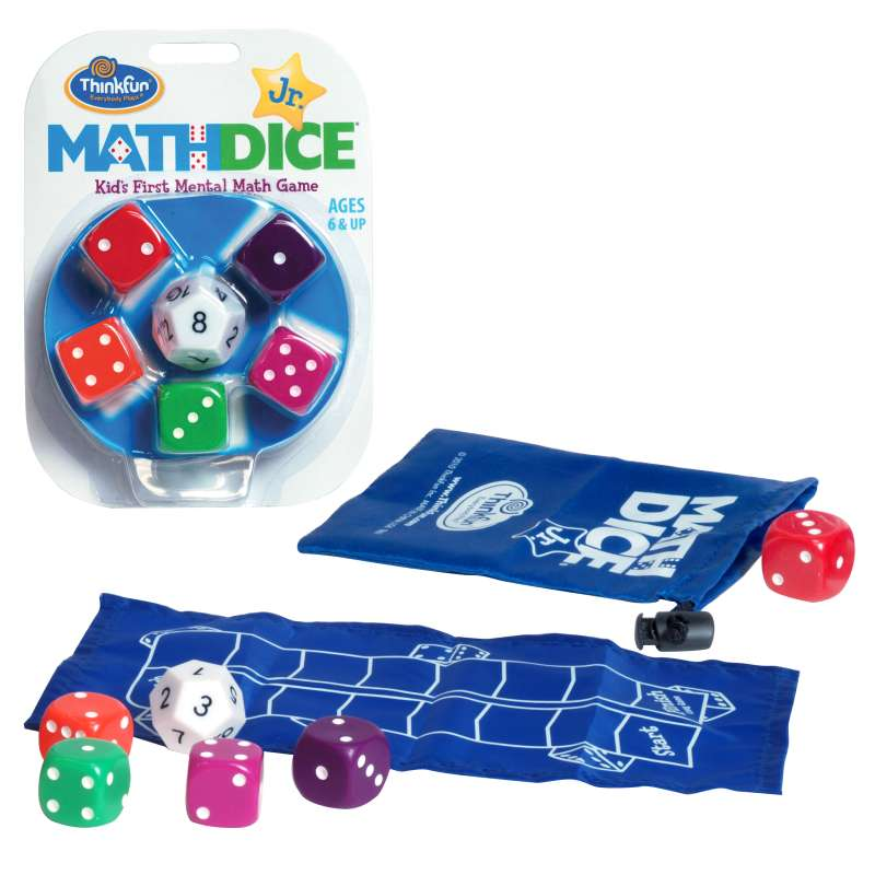 Math Dice Jr ThinkFun