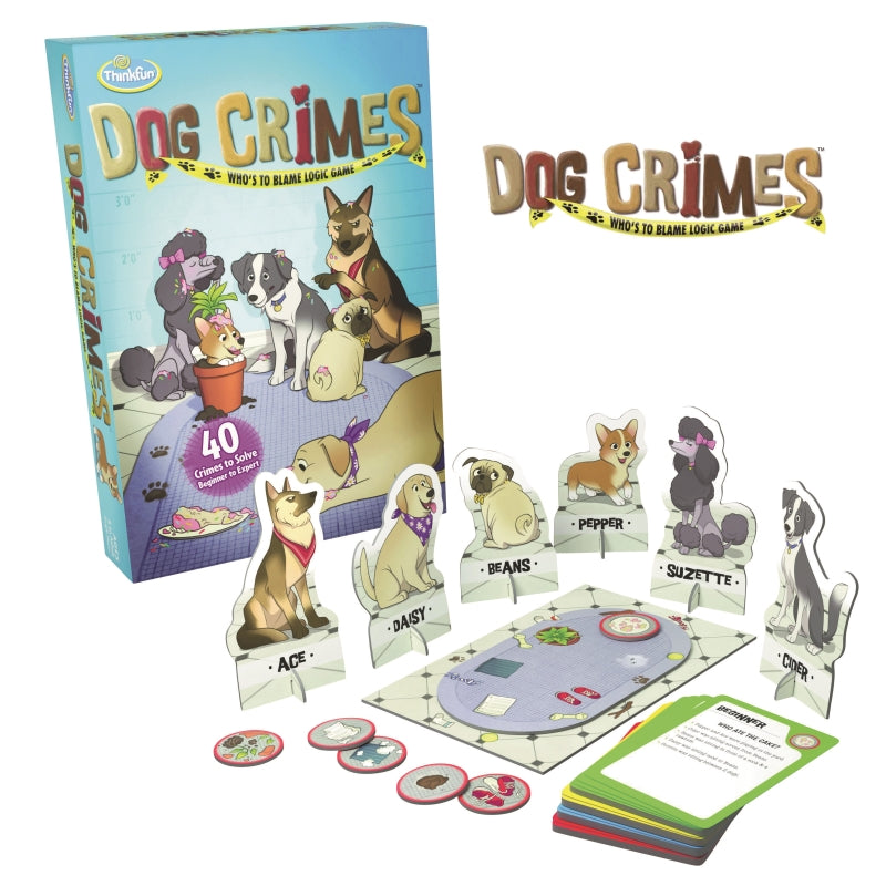 Dog Crimes - ThinkFun