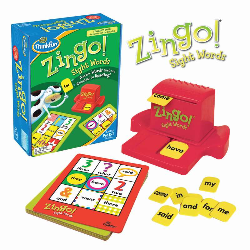 Zingo Sightwords ThinkFun