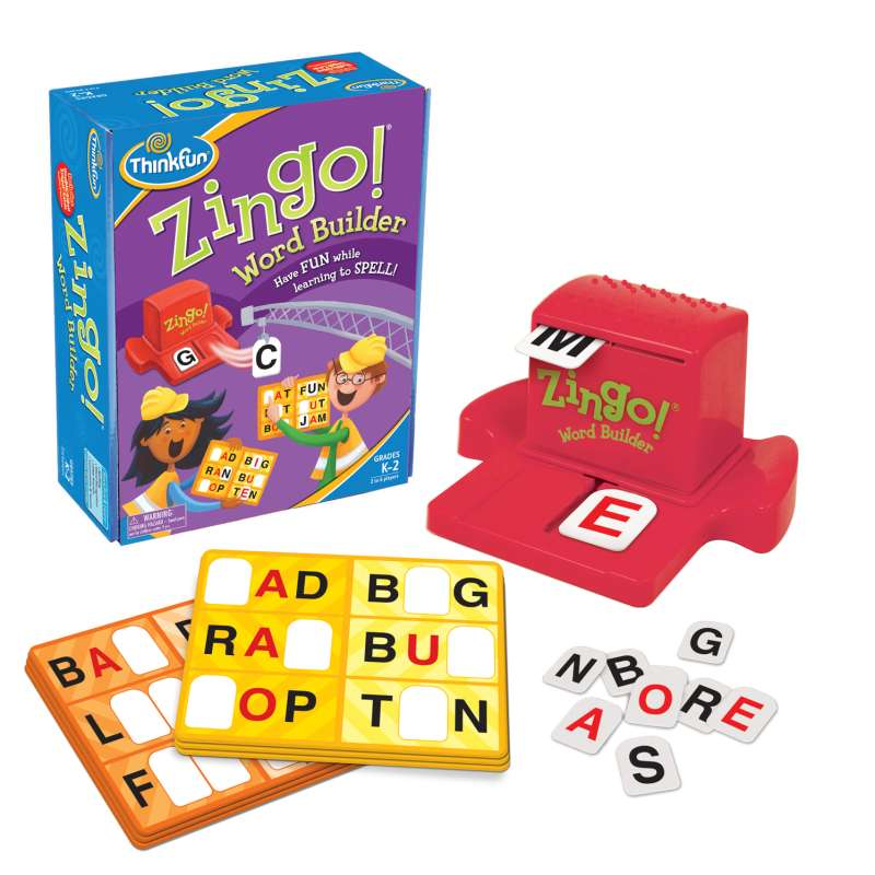 Zingo! Word Builder - ThinkFun