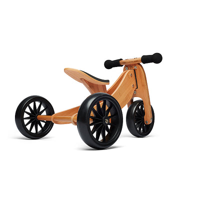 Tiny Tot 2 in 1 Trike Bamboo - Kinderfeets trike rear