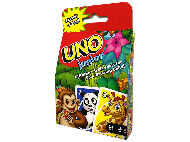 Uno Junior Card Game - Mattel