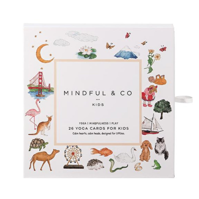 26 Yoga Cards for Kids - Mindful and Co