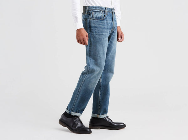 Levi's® Made & Crafted® 502™ regular taper fit selvedge 565180009 men jeans blue