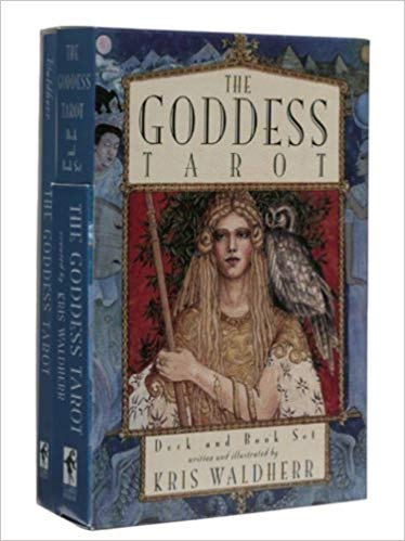The Goddess Deck & Tarot Book Set [With Book]