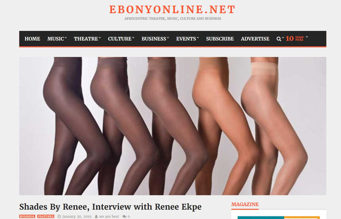 The Ebony collection Tights- Ebonyonline Interviews Us
