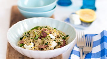 Greek fried rice