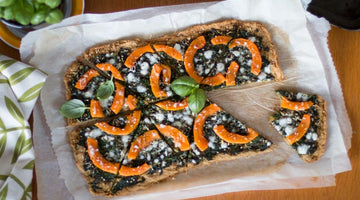 Thin & crispy gluten-free pizza
