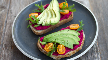 Avocado and Beetroot Hummus
