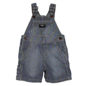 OshKosh Stripe Shortalls 12M
