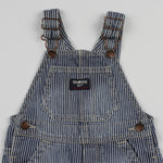 OshKosh Striped Shortalls 12M