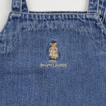 90's Vintage Ralph Lauren Denim Dress 2T