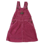 Vintage OshKosh Corduroy Pinafore Dress 4T