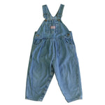 Vintage OshKosh Light Denim Bubble Overalls