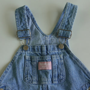 Vintage OshKosh Light Denim Overalls