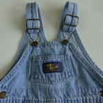 Vintage Baby B'Gosh Light Denim Overalls