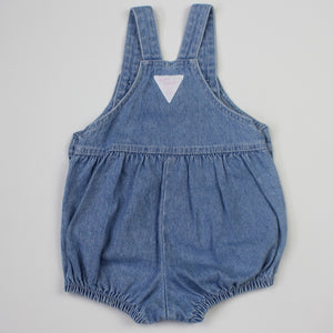 Vintage Baby B'Gosh Light Denim Bubble Romper