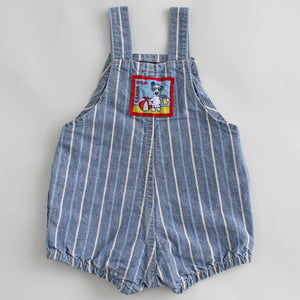 Vintage OshKosh Stripe Bubble Romper