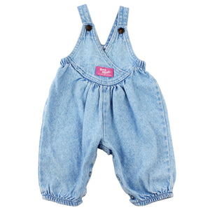 Vintage Baby B'Gosh Light Denim Bubble Overalls