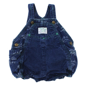 Vintage OshKosh Denim Bubble Romper