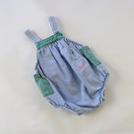 Rare Vintage Guess Light Denim Bubble Romper Size 18/24 Months