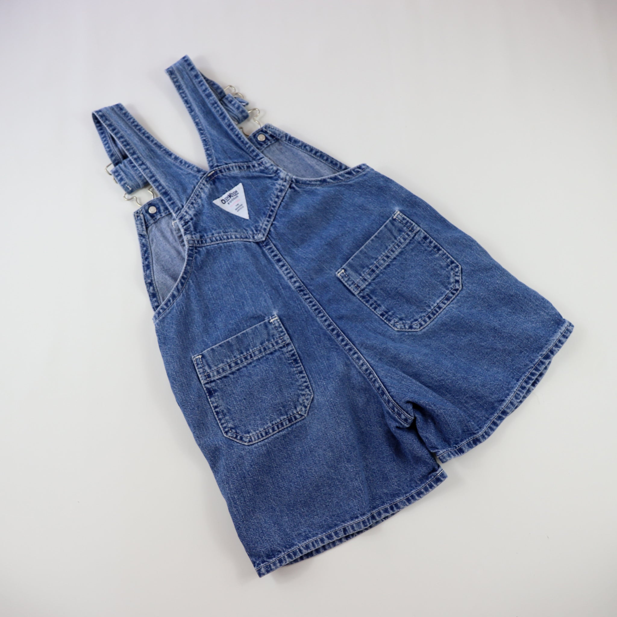 Vintage OshKosh Denim Shortalls Size 5