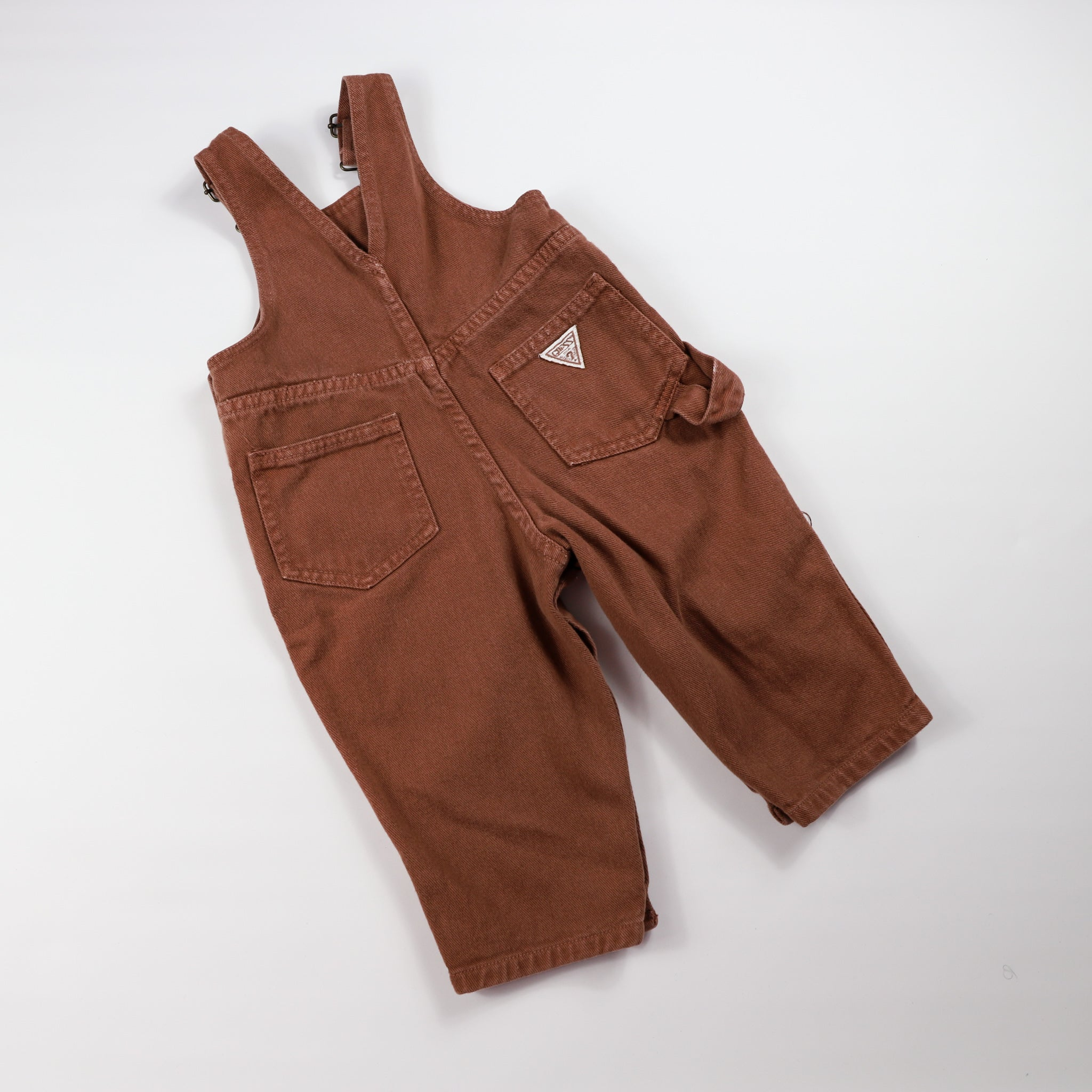 Vintage Guess Brown Overalls Size 24 Months