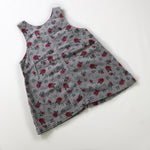 Vintage Oshkosh Floral Toddler Dress
