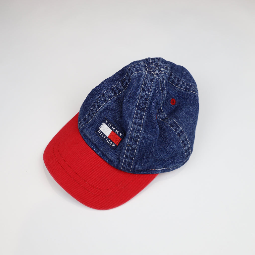 Vintage Tommy Hilfiger Spell Out Hat Size 44cm