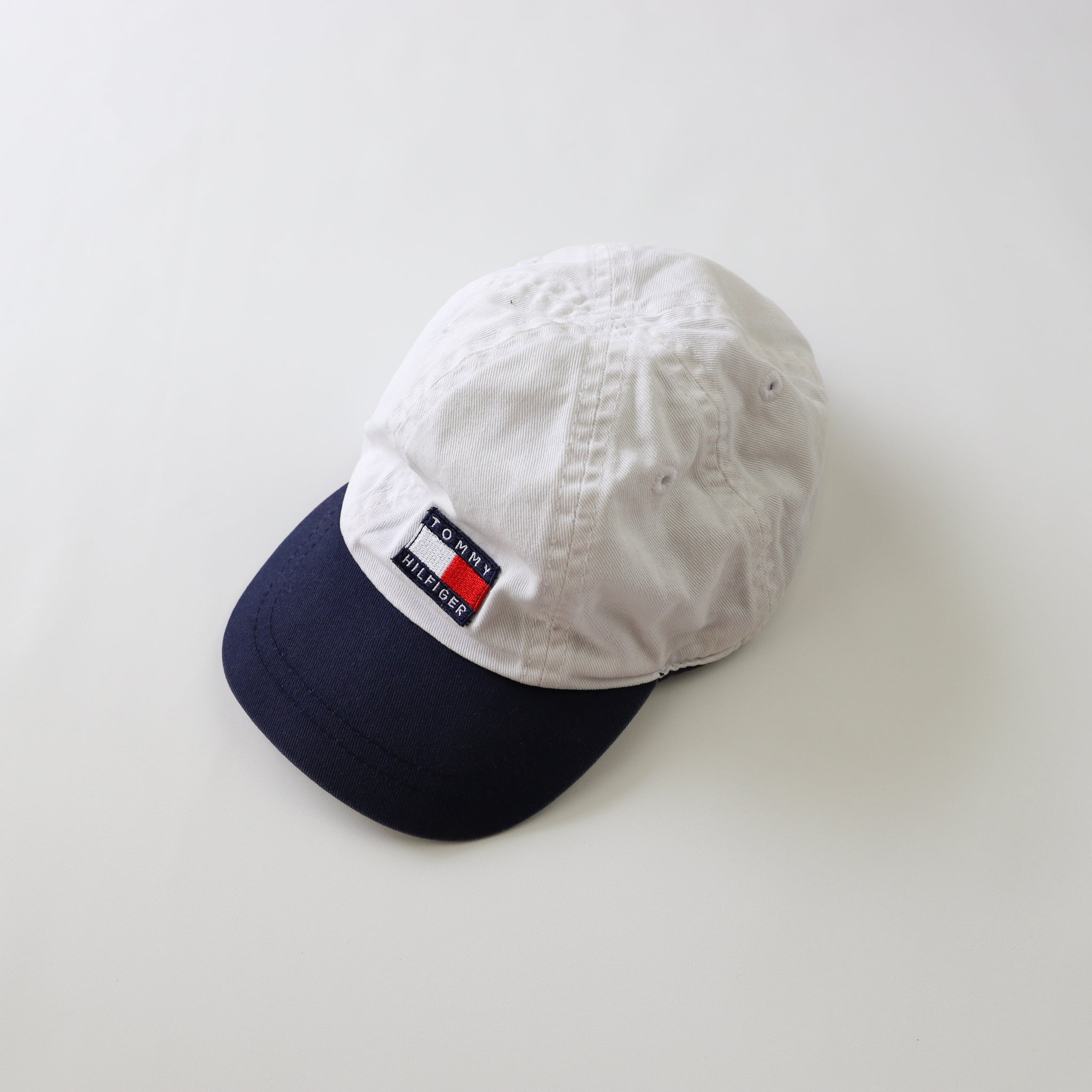 Vintage Tommy Hilfiger Toddler Spell Out Flag Hat/Cap Size 50cm