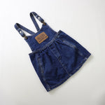 Vintage Guess Dark Denim Pinafore Size 4Y