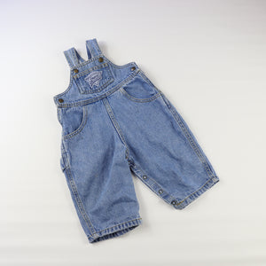 Vintage Guess Light Denim Overalls Size 9 Months