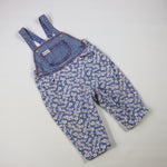 Vintage Guess Floral Overalls Size 18 Months