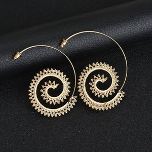 Mica Hoop Earrings