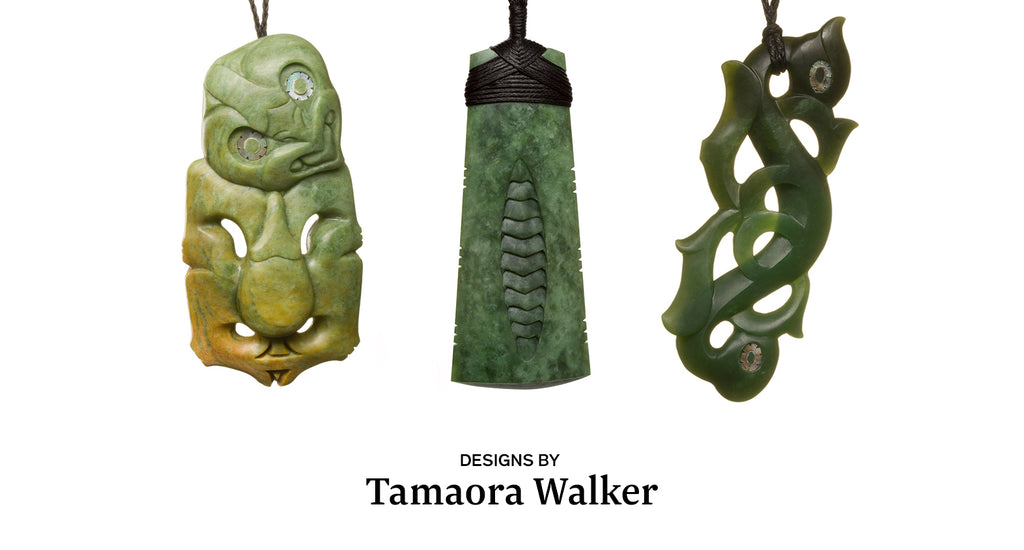 greenstone necklaces by tama walker
