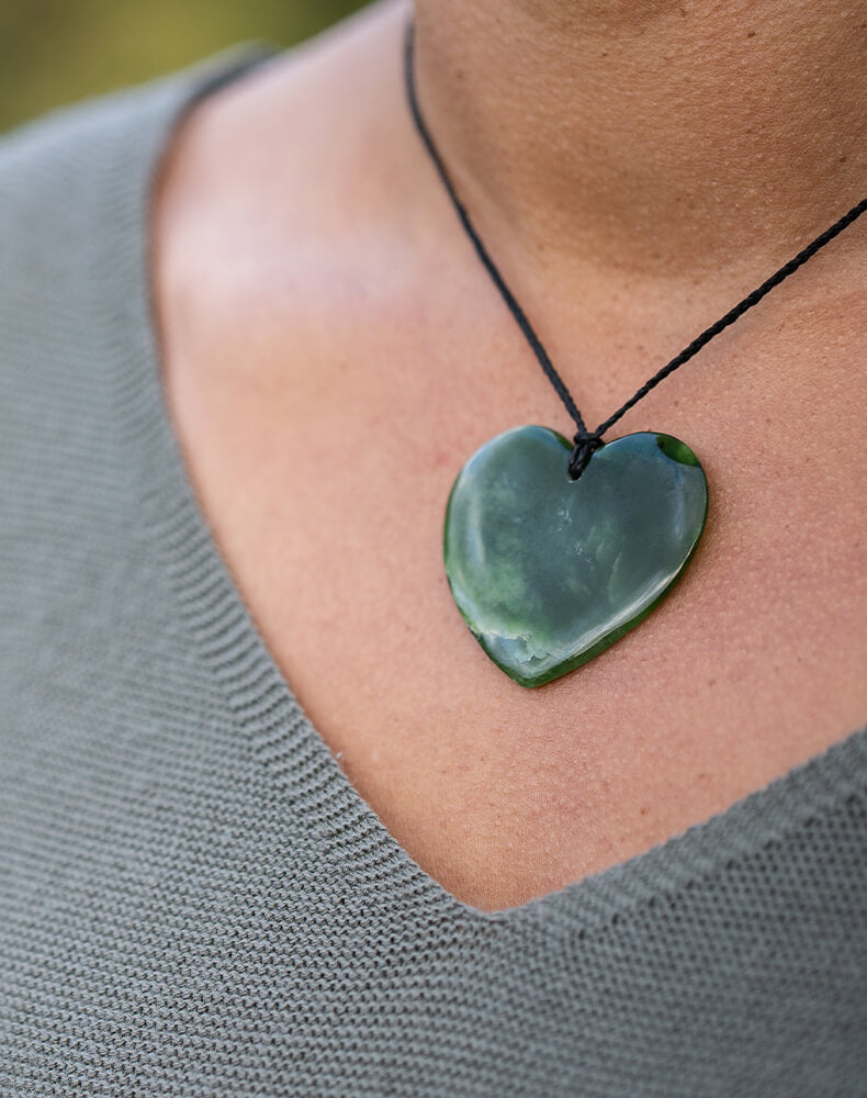 Jade and Greenstone (pounamu), Hearts